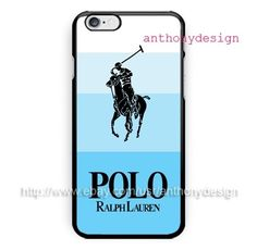 New Polo Ralph Lauren Blue For iPhone 6S Hard Plastic Cover Case High Quality #UnbrandedGeneric