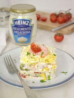Cuuking! Recetas de cocina: Lasaña de verano realmente deliciosa Beautiful Soup, Summer Dishes, Chicken Salad Recipes, Potato Salad, Tapas, Macaroni And Cheese, Good Food, Food And Drink, Healthy Recipes