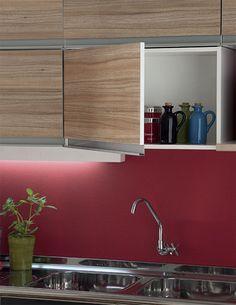 Cozinha e lavanderia integradas, bonitas e práticas - Casa