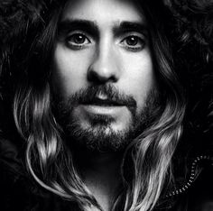 Lighting B&W Jared Leto