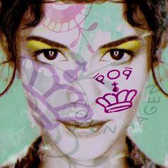 Pop Art Face 1407 by Martin Pop