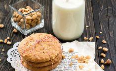 Schnelle Erdnussbutter-Haferflocken-Cookies