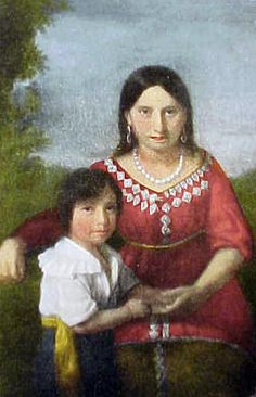 Pocahontas and Rolfe had one child, Thomas Rolfe, who was born in 1615 before his parents left for England.
