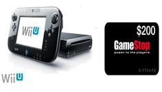 Wii U Giveaway & $200 Game Stop Gift Card | Ends 12/10