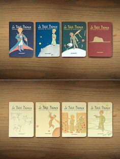 The Little Prince mini-notebook