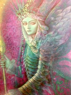 HERNAN VALDOVINOS Visionary Art, Mythical Creatures, Mythology, Illustrators, Wings, Princess Zelda, Fate, Google Search, Creative