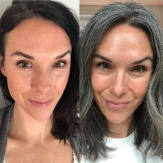 Taking a look back over the past 3 years and sharing some of the pitfalls that trip people up when going gray. Here's what NOT to do during your growout. #goinggraygracefully #saltandpepperhair #grayhairgrowout Gray Hair Growing Out, Dying Your Hair, Grey Hair Turning Yellow, Grey Hair And Glasses, Hair Levels, Going Gray Gracefully, Toning Shampoo, Salt And Pepper Hair, Transition To Gray Hair