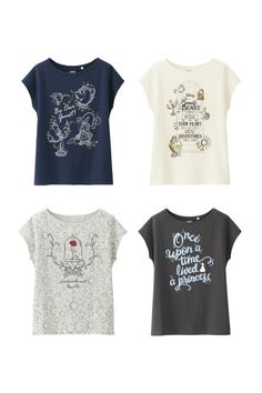 Disney Beauty and the Beast Graphic T-shirt, $14.90, uniqlo.com