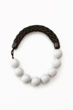 Florian : Sky R01 - Rope Bead Necklace