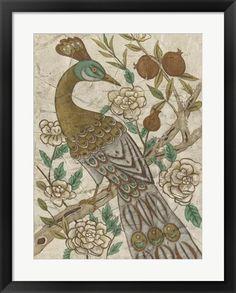Chinoiserie Pheasant I at FramedArt.com