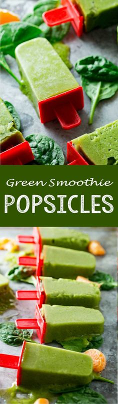 Smoothie Pops Green Smoothie Pops are a fun, healthy, easy treat! - Eazy Peazy MealzGreen Smoothie Pops are a fun, healthy, easy treat! Smoothie Popsicles, Smoothie Recipes, Snack Recipes, Freezer Recipes, Juice Recipes, Cookie Recipes, Dessert Recipes, Frozen Desserts, Frozen Treats