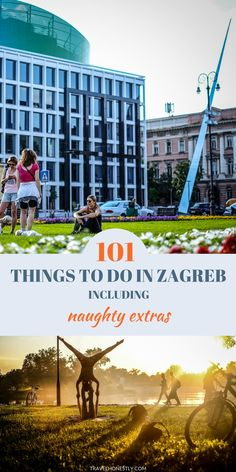 Zagreb Croatia things to do | Zagreb Croatia travel | A very long list of cool sightseeing ideas in Zagreb