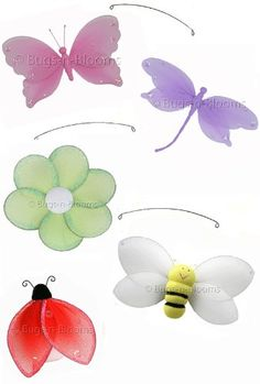 Jewel Butterfly Dragonfly Ladybug Flower Bee « MyStoreHome.com – Stay At Home and Shop