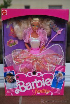 1990~Barbie Fantasy (Europe) aka Costumer Ball Barbie (U.S.)