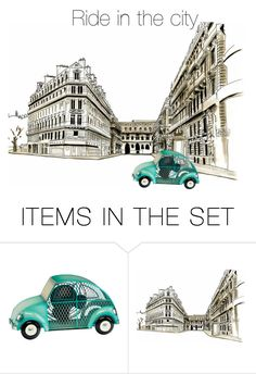 """""""Ride in the city"""" by heyraymondokey ❤ liked on Polyvore featuring art"""