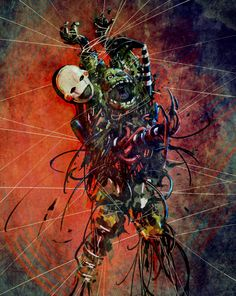 I think it's the marionette trying to kill springtrap Five Nights At Freddy's, Creepy, Scary, Fnaf Wallpapers, Fnaf Sister Location, Fnaf Characters, Freddy Fazbear, Fnaf Drawings, Anime Fnaf