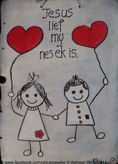 Jesus lief my nes ek is!