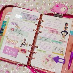 Kate Spade Planner #ShareIG Last weeks pages! Week 14 ... My tutees are on summer break...