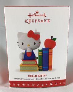 Hello Kitty Christmas Ornament Hallmark Keepsake Ornament 2016 NIB Sanrio    eBay