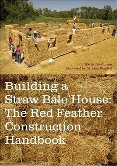 Building a Straw Bale House: The Red Feather Construction Handbook by Nathaniel Corum, http://www.amazon.com/dp/1568985142/ref=cm_sw_r_pi_dp_Z2Nwsb1QG7KSP