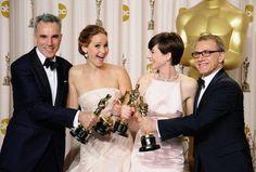 best actors & actresses - Oscars 2013