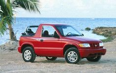 '99 Sportage at the beach