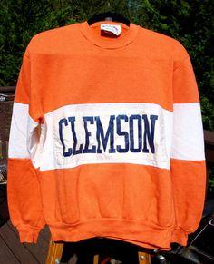 Vintage Clemson University Sweatshirt