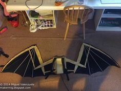 Makermig: Stuff I've Made: October 2014  /good pictures for a cool looking toothless with articulating wings.  Even a cool toothless head made from foam.
