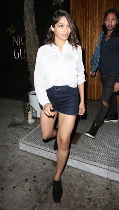 "Freida Pinto (""Slumdog Millionaire"") a retrouvé l'amour Check more at http://people.webissimo.biz/freida-pinto-slumdog-millionaire-a-retrouve-lamour/"