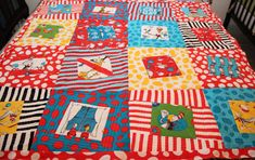 Dr. Seuss quilt. How cool is that!