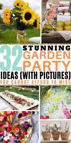 32 Stunning Summer Garden Party Ideas You Cannot Afford To Miss! Are you hosting a summer party in your garden this year? Then you'll love these easy . Garden Parties, Outdoor Parties, Summer Parties, Backyard Parties, Party Table Centerpieces, Summer Party Decorations, Table Vintage, Stunning Summer, The Mummy