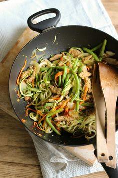 Soijasuikalewokki Love Food, A Food, Vegan Recipes, Vegan Food, Japchae, Risotto, Vegetables, Cooking, Healthy