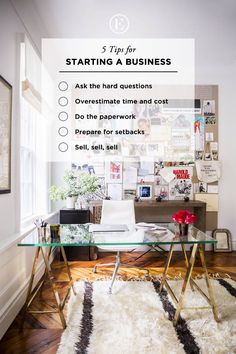5 Tips for Starting a Business #theeverygirl