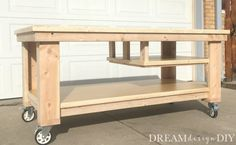 to Build the Ultimate DIY Garage Workbench - FREE Plans Garage Problems.Solution the DIY Garage WorkbenchGarage Problems.Solution the DIY Garage Workbench