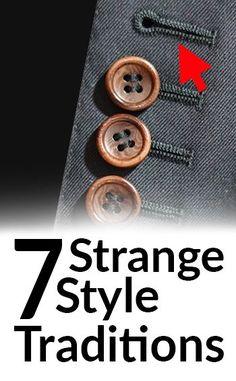 7 Strange Mens Fashion Norms