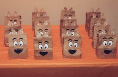 DIY Scooby Doo Birthday Party Party Favor Bags Printables