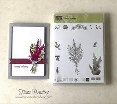 Happy Birthday - Lots of Lavender - Stampin' Up! - Fiona Bradley - #inkitstampit