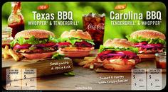Burger King Menu Boards