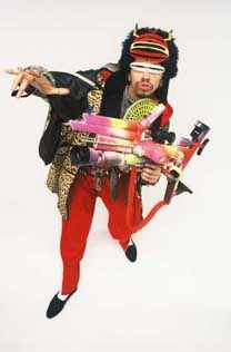 Rammellzee / As a member of the Gettovetts