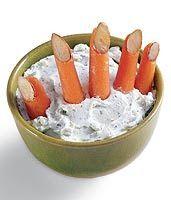 My Little Corner of Mississippi: Halloween Recipe: Carrot-Finger Dip