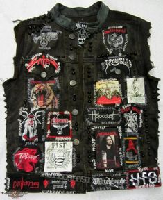 chaleco de Jame Hetfield cantante de Metallica