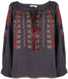 Felix Embroidered Blouse - Lyst