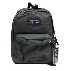 JANSPORT SUPERBREAK BACKPACK SCHOOL BAG - Forge Grey >>> Find out more details @