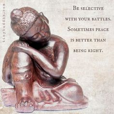 Don't fight every battle you are invited to.