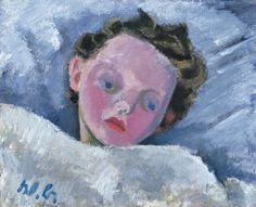 Werner Berg, Ursi mit Fieber, 1936 Photo Art, Childhood, Portraits, Children, Photos, Painting, Woodblock Print, Watercolour, Painting Art
