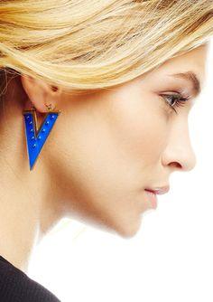 RAIN Chevron Earrings