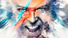 David Bowie, Digital Painting sur ARTRAGE.