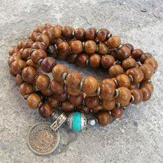 Tibetan Prayer Beads Boho Jewellery, Unique Jewelry, Tibetan Prayer Beads, Rosary Catholic, Beadwork, Serenity, Meditation, Prayers, Life Quotes