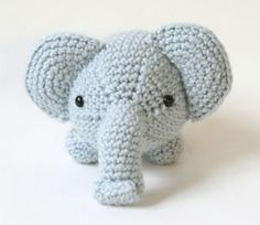 Ravelry: Amigurumi Elephant #70582AD pattern by Lion Brand Yarn