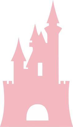 Disney Castle Princess x Cinderella Girls Vinyl Wall Decal Sticker Art - Paris Disneyland Pictures Disney Princess Castle, Princess Room, Princess Nursery, Cinderella Castle, Chateau Princesse Disney, Rainbow Dash, Deco Stickers, Wall Decal Sticker, Princesas Disney
